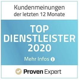 PE 2020 Top Dienstleister