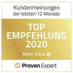PE 2020 Top Empfehlung