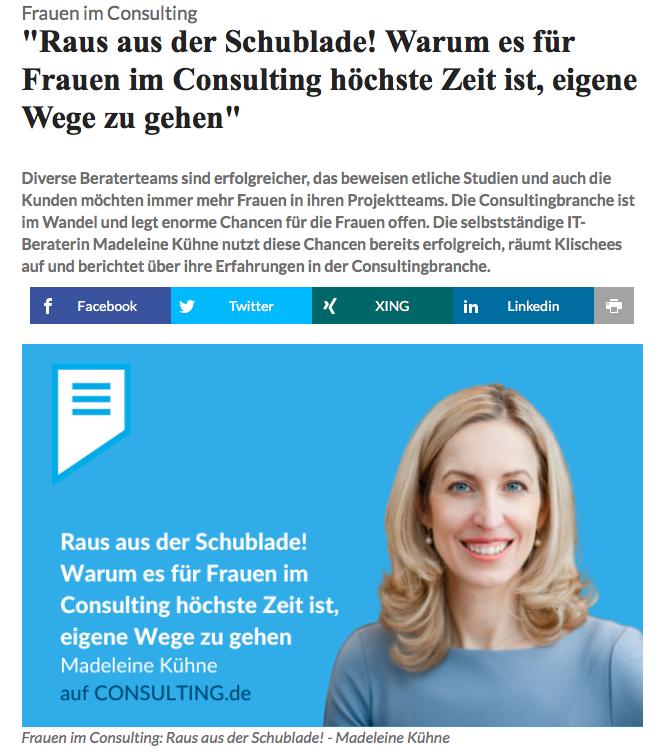 Artikel Madeleine Kühne Consulting.de